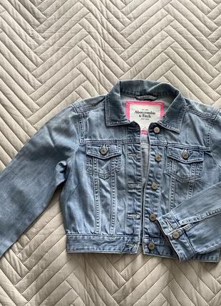 Джинсова куртка abercrombie