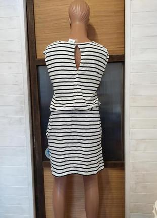 Классное платье натуральное l-2xl