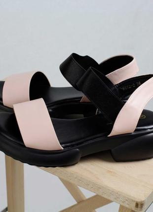 Босоножки резинка 🌿 платформа сланцы сандалии сабо