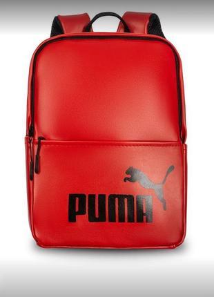 Красный рюкзак puma