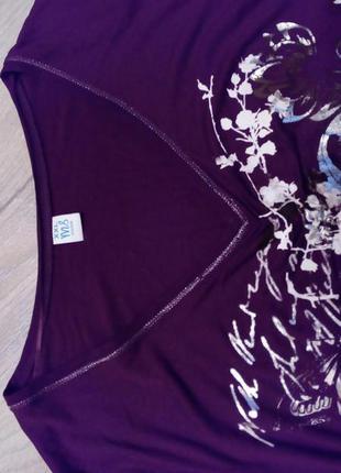 Ms moda, шикарна кофта туніка марсала з совою, великий розмір5