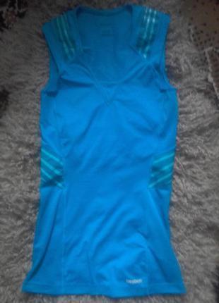 Стильная фирменая майка футболка для спорта бега. фитнеса reebok s
