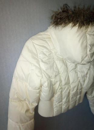 Зимняя куртка h&m с капюшоном