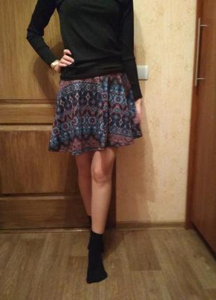 Интересная юбка с восточным принтом