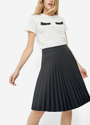 Aктуальная плиссированная юбка