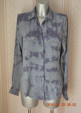 Sale sale sale мраморная рубашка-варенка h&m