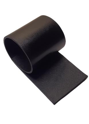 Черная натуральная кожа в 2 слоя для творчества, сделайте сами креативные украшения