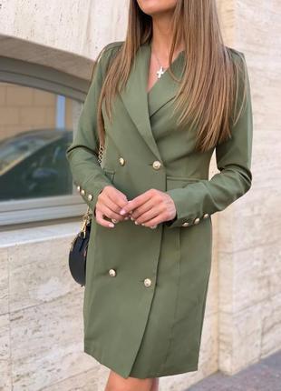 Платье-пиджак есть в разных цветах