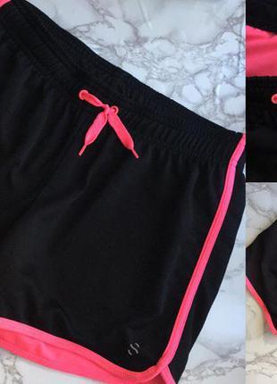 Актуальные шорты h&m sport  размер: подростковый, идут на xs-s