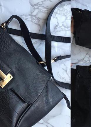 Чёрная сумка dorothy perkins