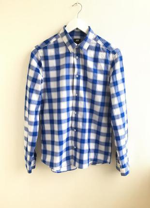 Базовая рубашка в клетку h&m