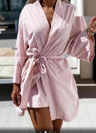 Костюм шорты и кимоно