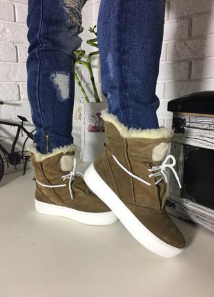 Зимние валенки угги ботинки