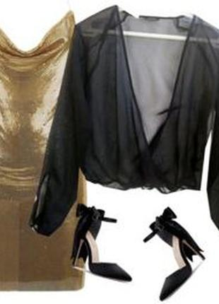 Блуза накидка размер 46-48
