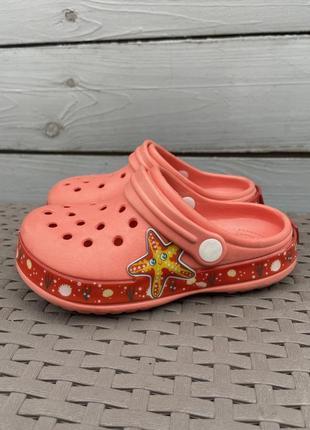 Crocs детские тапочки 26 размер