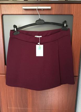 Юбка-шорты стильная вещь большого размера 16 -18, наш - 52 - 54