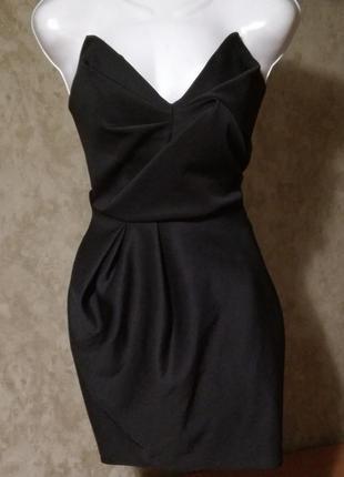 Суперовое платье бюстье от river island