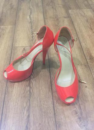 Шикарный комплект туфли и сумка