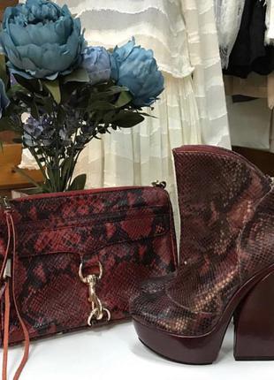 Шикарные paco gil и сумка кроссбоди от rebecca minkoff