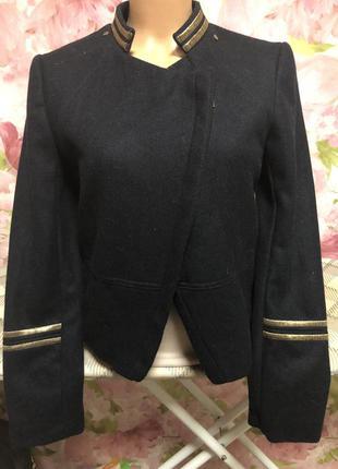 Стильный пиджак_ 49% шерсть