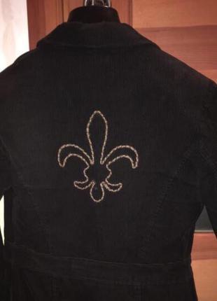 Вельветовый пиджак sela