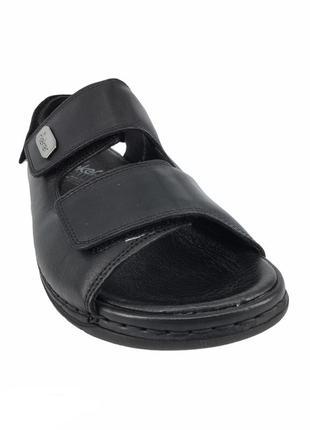 Мужские кожаные сандалии rieker 44 оригинал