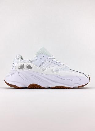 Кроссовки adidas yeezy 700 wave runner white