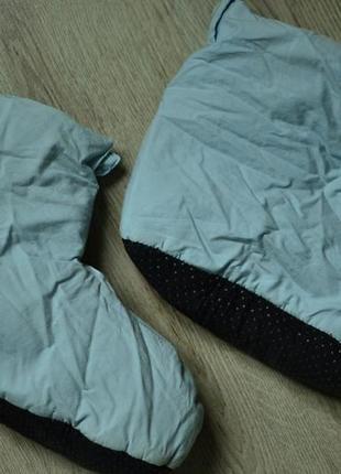 Пуховые тапочки, носки тёплые зимние (пухові тапочки зимові теплі)