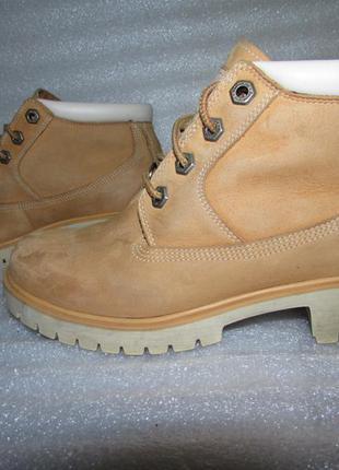 Супер ботинки 100% натуральная кожа~timberland~ р 36