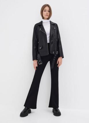 Осенняя байкерская куртка -косуха , стильная и модная.sinsay 🖤