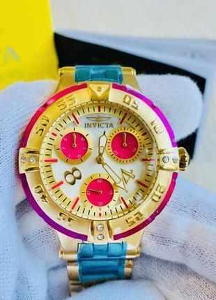 Женские кварцевые наручные часы invicta subaqua 26141 швейцарские оригинал новые