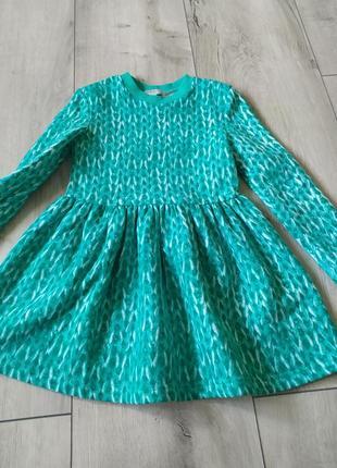 Флісове тепле плаття на дівчинку