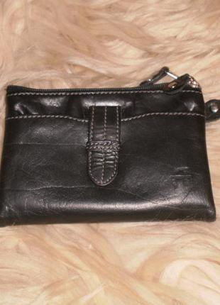 Кожаный кошелек из дании