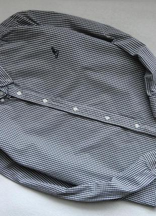 Стильная фирменная рубашка kangol 12-14л, р.152-164