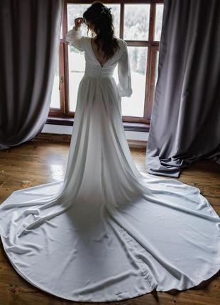 Свадебное платье laconic provance