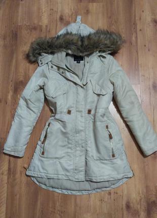 Утепленная зимняя куртка