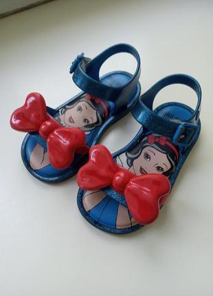 Босоножки сандалии 23,5 mini melissa