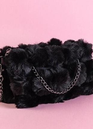 Меховая сумка (3 цвета)