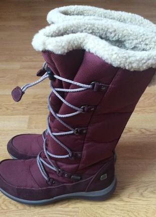 Зимние сапоги clarks с мембраной gore-tex в идеальном состоянии