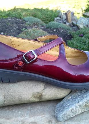 Женские туфли clarks unstructured - 38 р. кожаные оригинал балетки