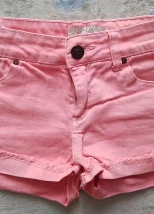 Шорты джинсовые розовые denim collection