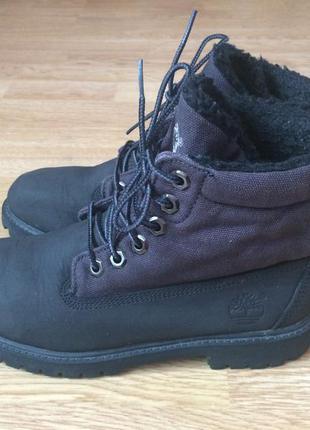 Кожаные ботинки timberland оригинал 37 размера в отличном состоянии