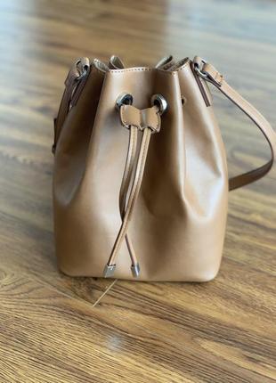 Женская крутая сумка мешок mango