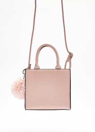 Маленькая сумка сумочка кроссбоди кросс боди с длинным ремешком бершка bershka