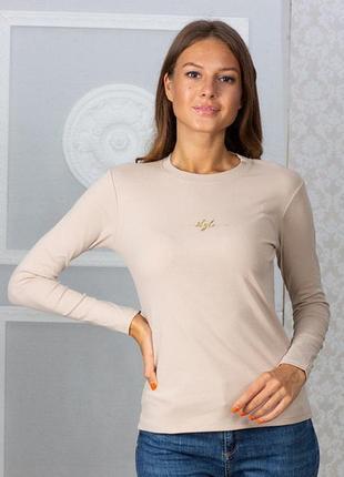 Лонгслив футболка с длинными рукавами хлопок коттон sov7003