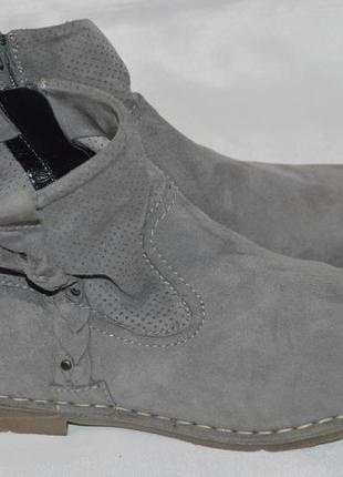 Ботинки замш marc німеччина розмір 39 40, черевики