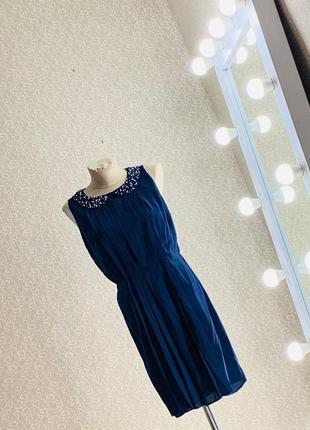 Шикарное платье сарафан плиссе