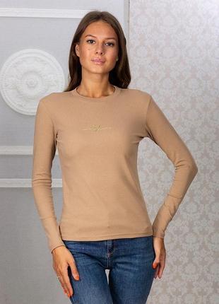 Лонгслив футболка с длинным рукавом хлопок коттон sov7003