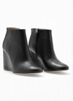 Cos кожаные ботинки полусапожки 40 размер