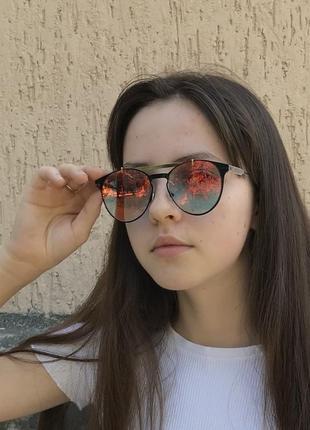 👓 круглые солнцезащитные очки